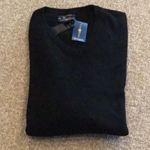 Men's 100% cashmere sweater, large, brand NEw